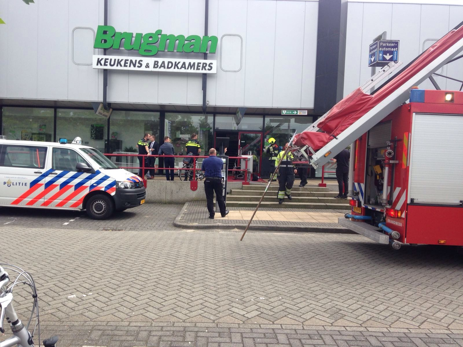 Brugman Badkamers Nijmegen : Brandje bij brugman keukens aan de woonboulevard 112nijmegennieuws.nl